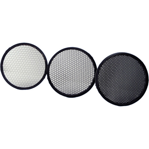 Clip-On Honeycomb Grid Set (10°, 20°, 30°)