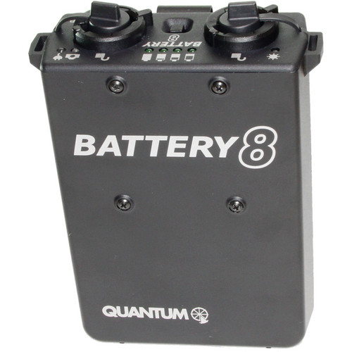 QB8 Rechargeable Battery with Charger for OMICRON 4 Video Light (US)