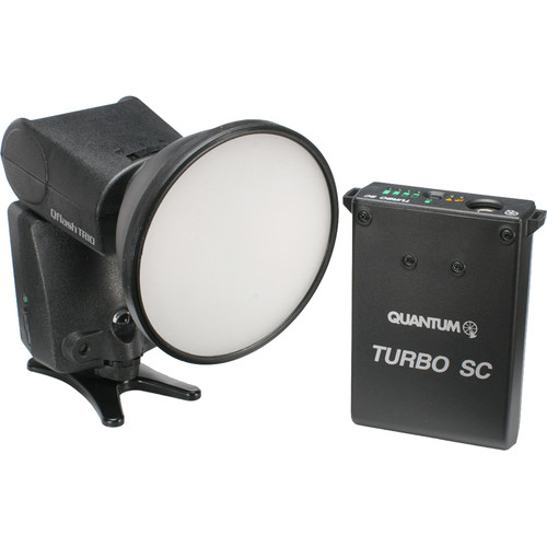 Qflash TRIO Flash Kit with Turbo SC Power Pack for Canon Cameras