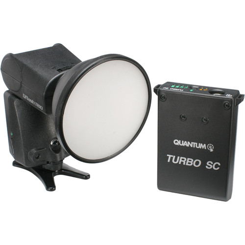 Qflash TRIO Flash Kit with Turbo SC Power Pack for Nikon Cameras
