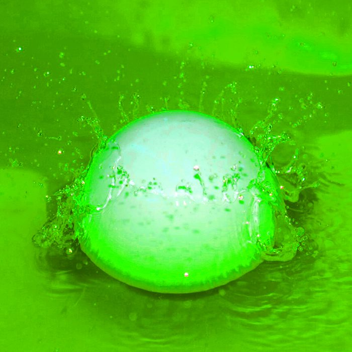 ball splash-green